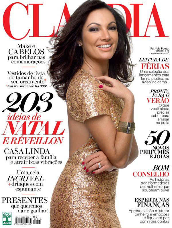 Revista Claudia - Dezembro 2012 - Foto Luis Crispino