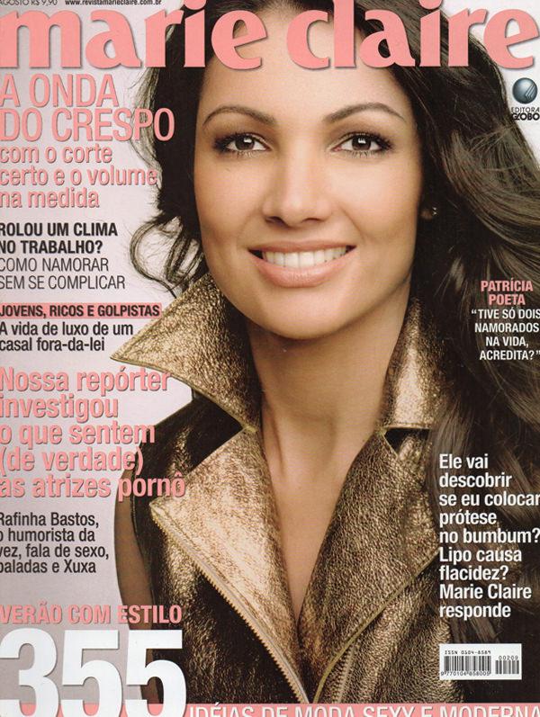 Revista Marie Claire - Agosto 2008 - Foto Jairo Goldflus